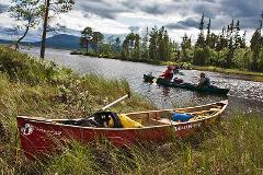 Canoe Adventure in the Pearl river Nature Reserve, Lapland