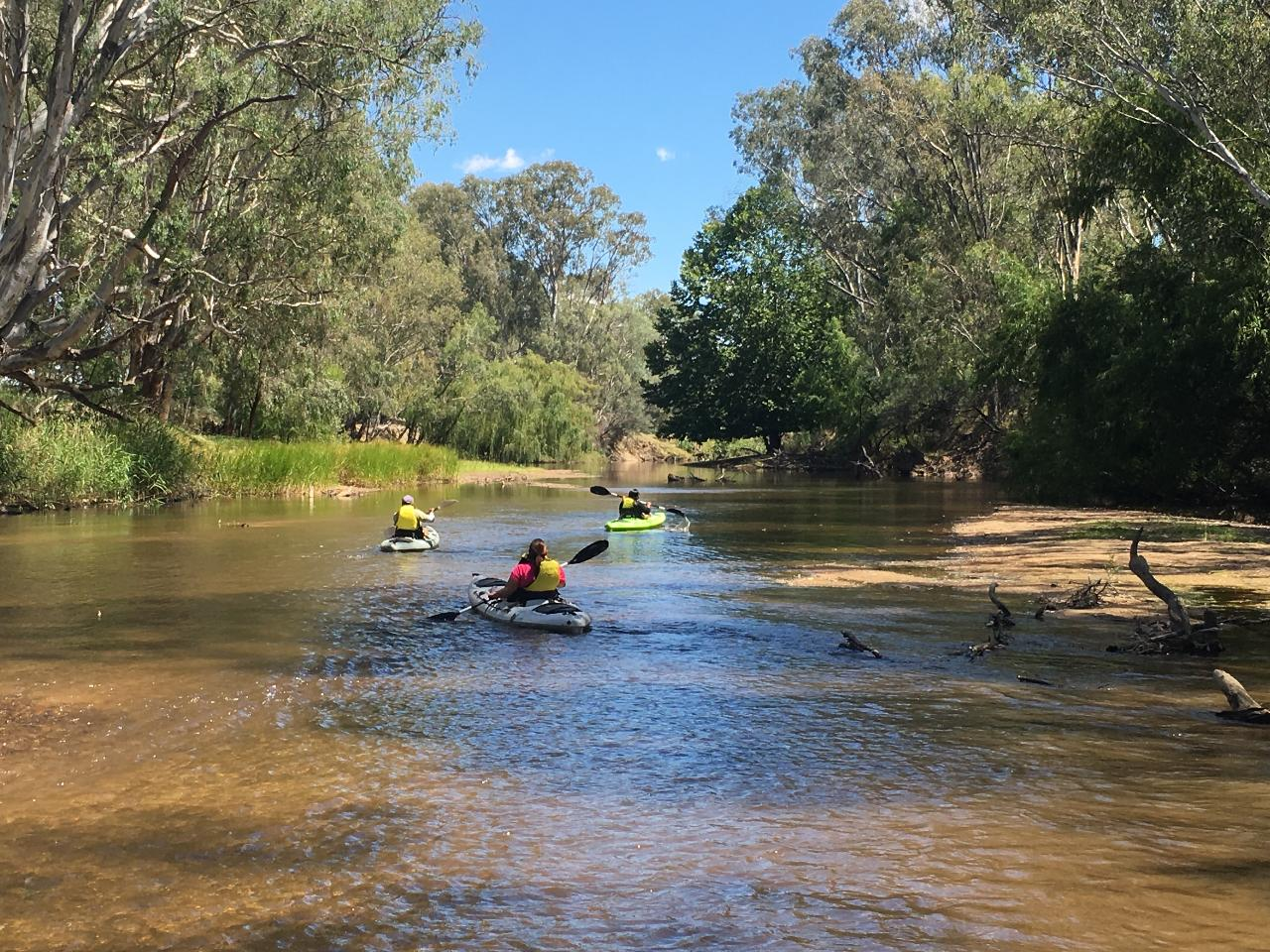 Kayak Overnight - Build your own adventure on the Ovens River - Self Guided