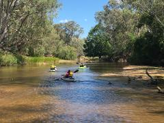 Kayak Overnight - Build your own adventure on the Ovens River
