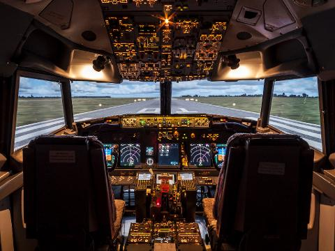 Jet Airliner (737) Experience 60mins - Weekend