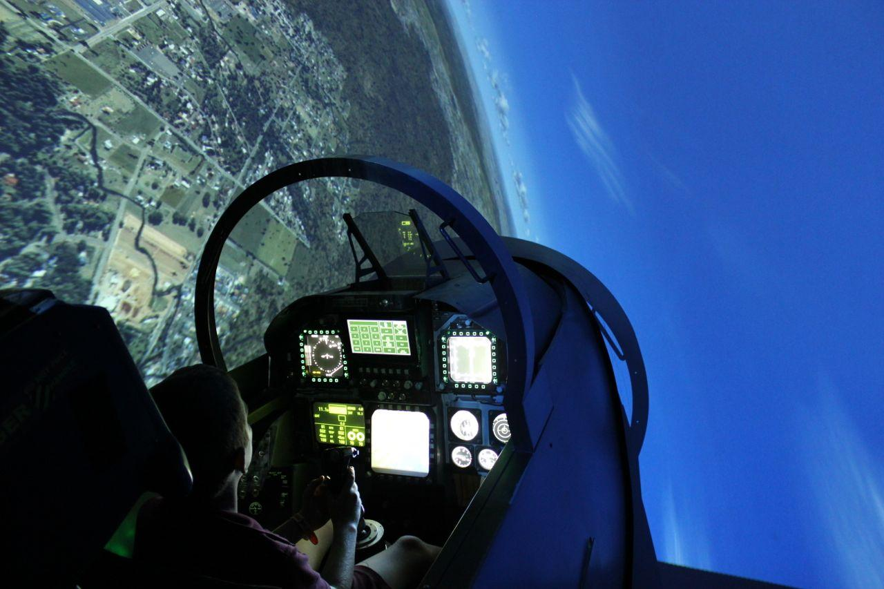 Fighter Jet Simulator 30 minutes for 2 People