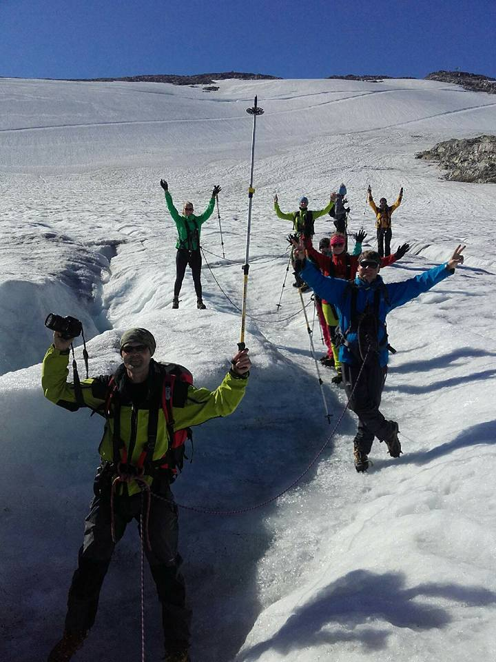 Glacier Guiding in Stryn
