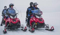 Snowmobile Safari into the remote Arctic plateau