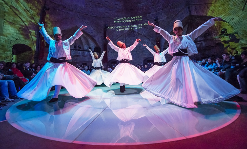 Whirling Dervishes Live Show + Exhibition