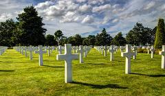 Normandy Landing Beaches 12H Private Tour Sedan Car 1 to 3 pax