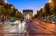 Paris Illuminations & Cruise Tour 1 to 3 pax
