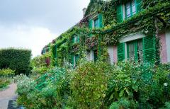 CLAUDE MONET'S GIVERNY 5H Private Tour  Minibus 8 pax (Morning)