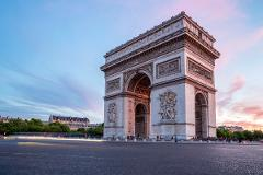 Paris Discovery 8H Private Tour Sedan 4 to 7 Pax
