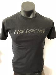 Blue Dirt T-Shirt - Black on Black