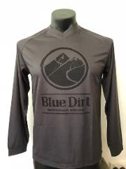 Blue Dirt Long Sleeve Jersey - Charcoal/Black