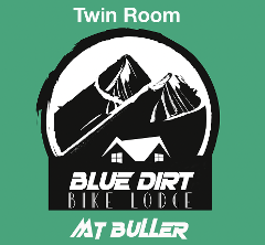 Bike Lodge MT BULLER - Twin Room with ensuite