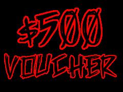 General Gift Voucher $500