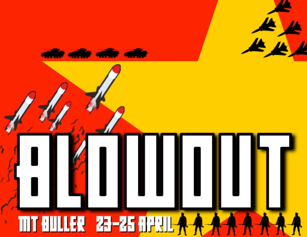 Blue Dirt Blowout 1 - DAY TICKET