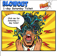 Blue Dirt Blowout 1-day Saturday