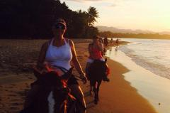 Sunset Beach Horseback Riding with Dinner