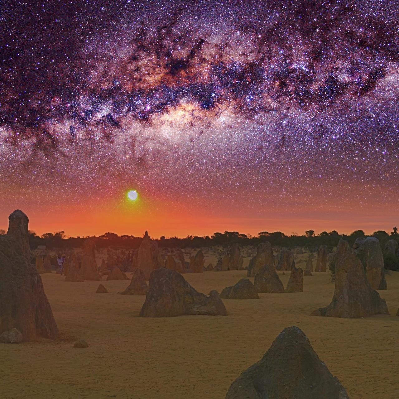 Pinnacles Sunset Stargazing Tour