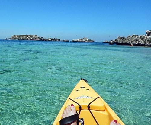 Turquoise Coast Kayaking, Sandboarding  and Pinnacles Tour