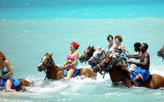 Blue Hole and Horseback Riding