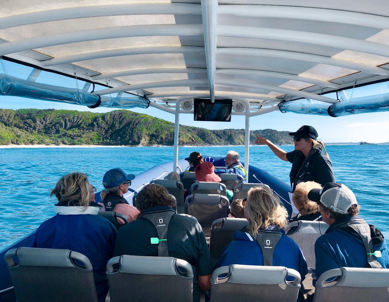 Julian Rocks Coastal Discovery Cruise