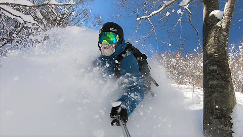STEEP & DEEP CLINIC 1 DAY (Advance freeride group lesson for Snowboarders)