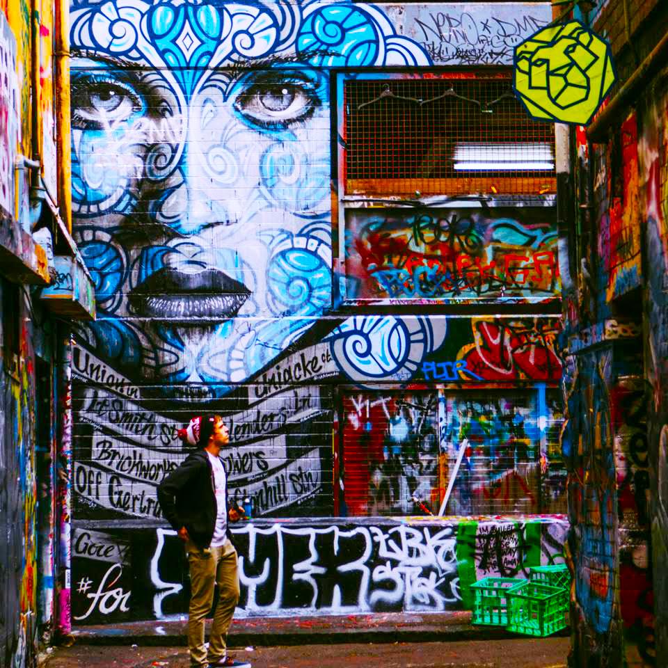 *Post-Covid* Melbourne CBD Street Art Walking Tour