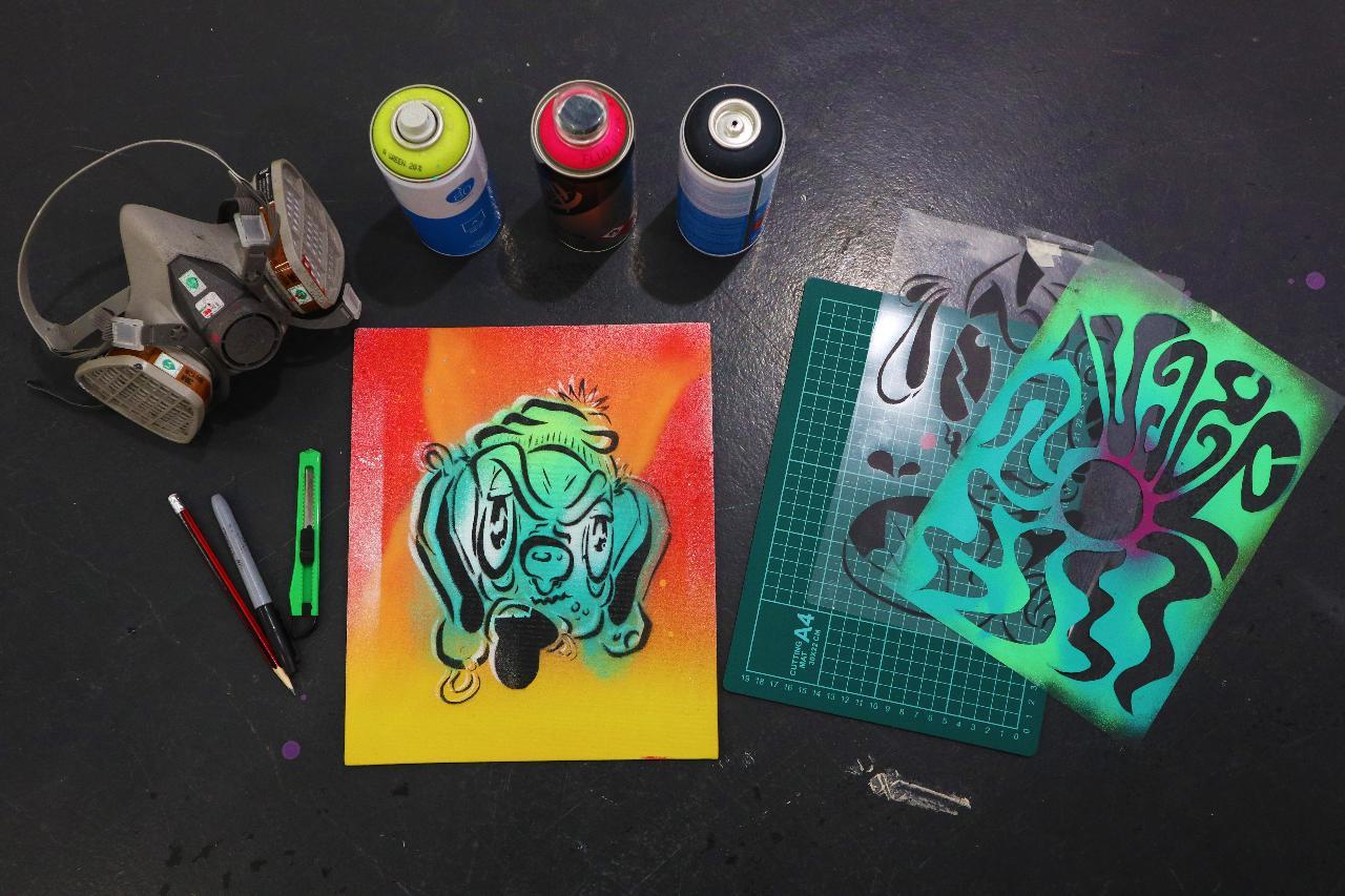 Stencil Workshop - Beginner