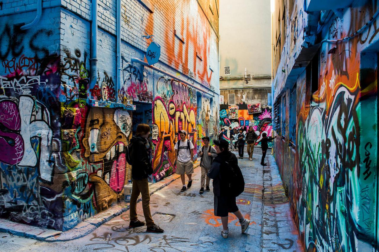 School Holiday Program - Street Art Walking Tour