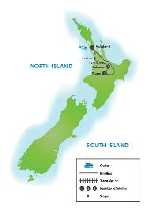 North Island Favorites Tour (return or one way  )