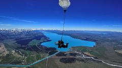 Mt Cook Tour & Sky Dive Combo from Queenstown