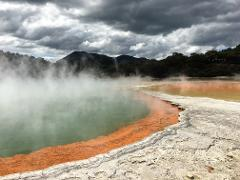 Hobbiton & Rotorua Tour including Wai-o-Tapu from Auckland (small groups)
