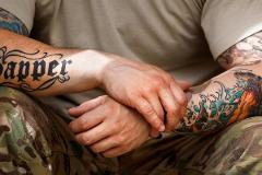 Vet Ink: Military-Inspired Tattoos exhibition