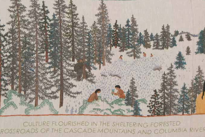 Fort Vancouver Tapestry exhibition