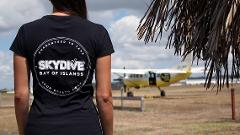 Skydive Bay of Islands T-shirt - Black