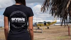 Skydive Bay of Islands Hoodie - Black