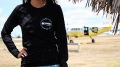 Skydive Bay of Islands Long Sleeve - Black