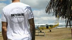 Skydive Bay of Islands T-shirt - White
