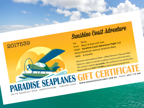 Gift Certificate - Sunshine Coast Adventure