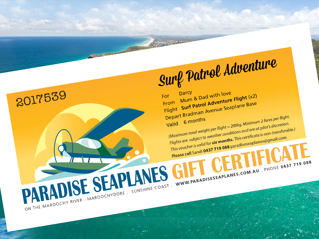 Gift Certificate - Surf Patrol Adventure