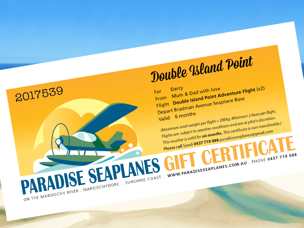 Gift Certificate - Double Island Point Adventure