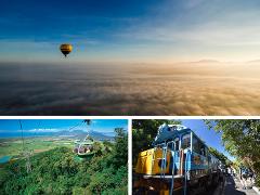 熱気球+スカイレール&キュランダ列車チケット