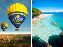 熱気球+フィッツロイ島 1日格安プラン