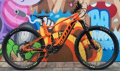 Full Suspension Electric Bike Hire -  Half Day
