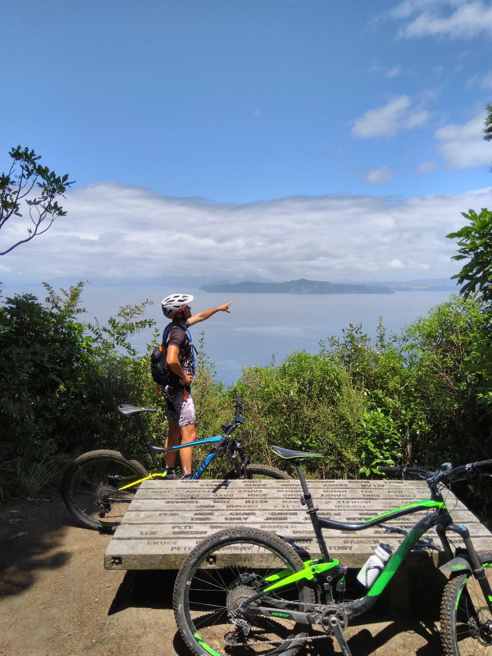 Great Lake Trail one way shuttle Kinloch Pick up- Whakaipo drop off