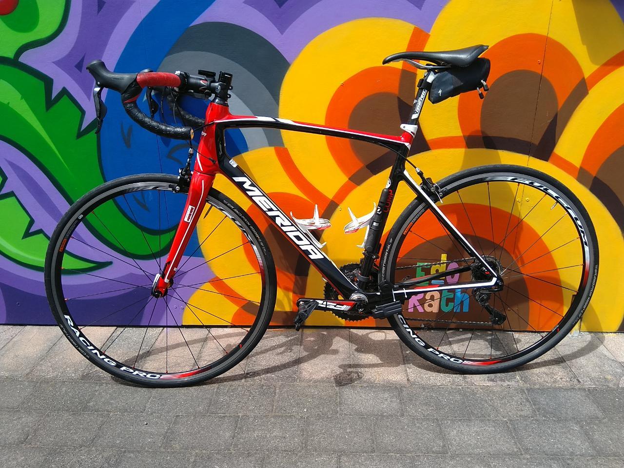 Merida Di2 Medium (54) Road Bike Hire