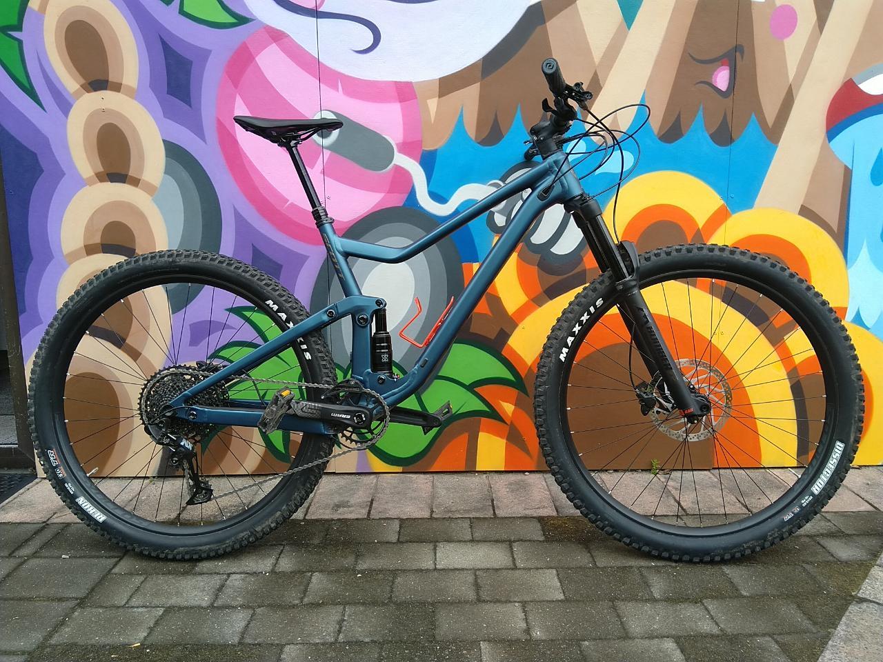 Full Suspension Scott Genius bike - Full Day