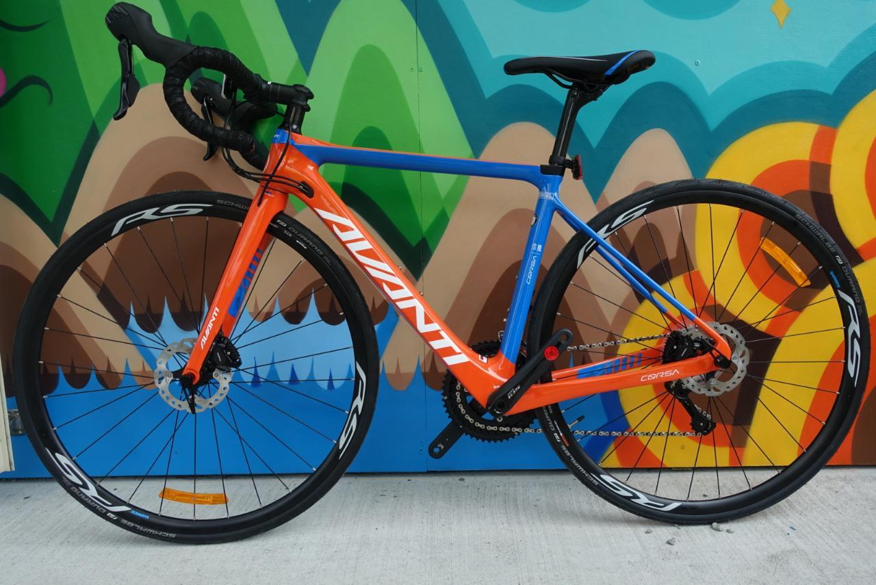 Avanti Corsa Sl Road Bike Hire (November iron man Taupo) Size 52 - 56.5 available