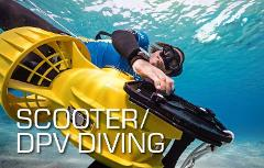 Scooter / DPV Diving Specialty