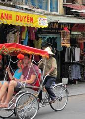 Hanoi Cyclo Experience
