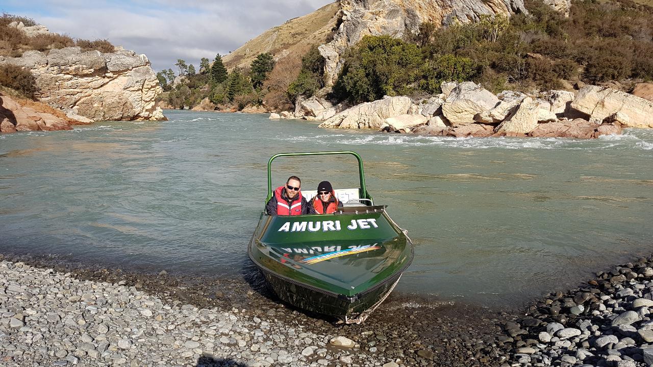 Jet Boating - Headwaters Safari
