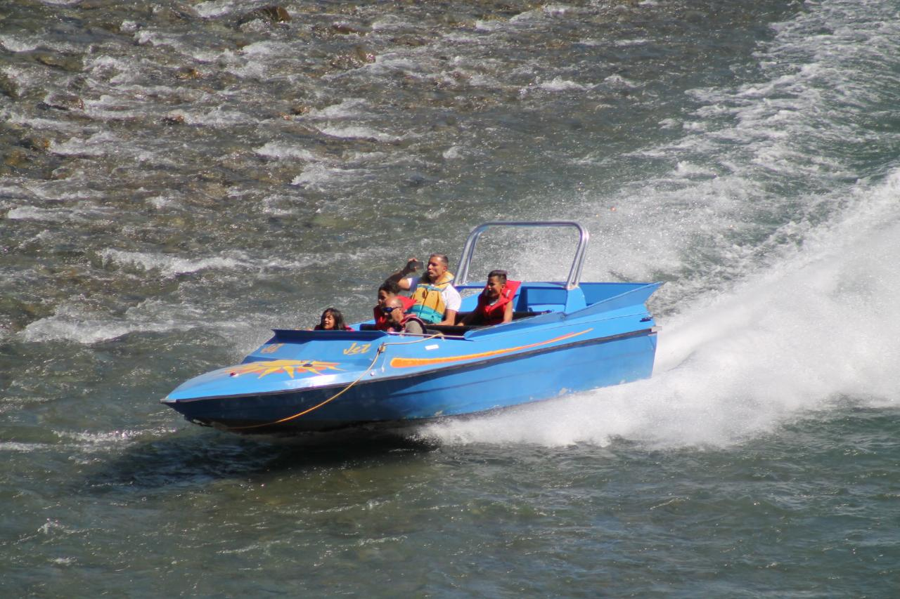 Jet Boating - Wilderness Safari
